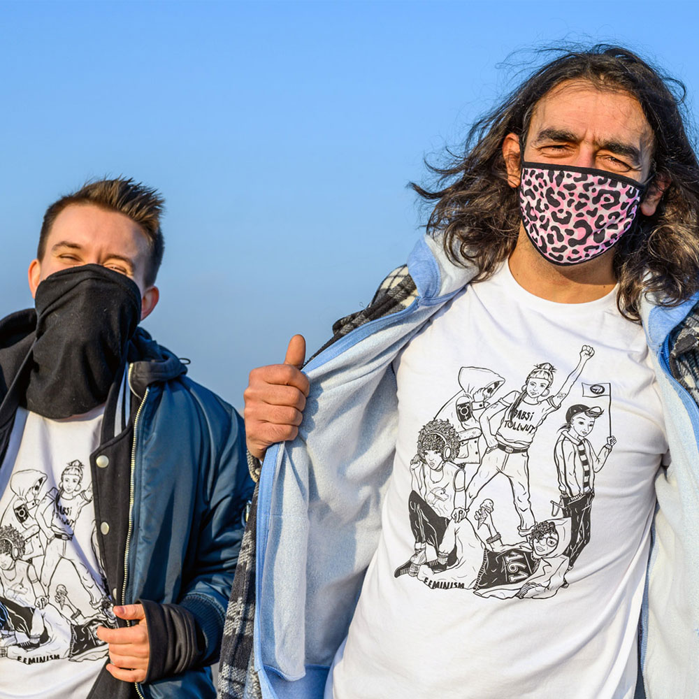 T-Shirt Queerfem-Gang